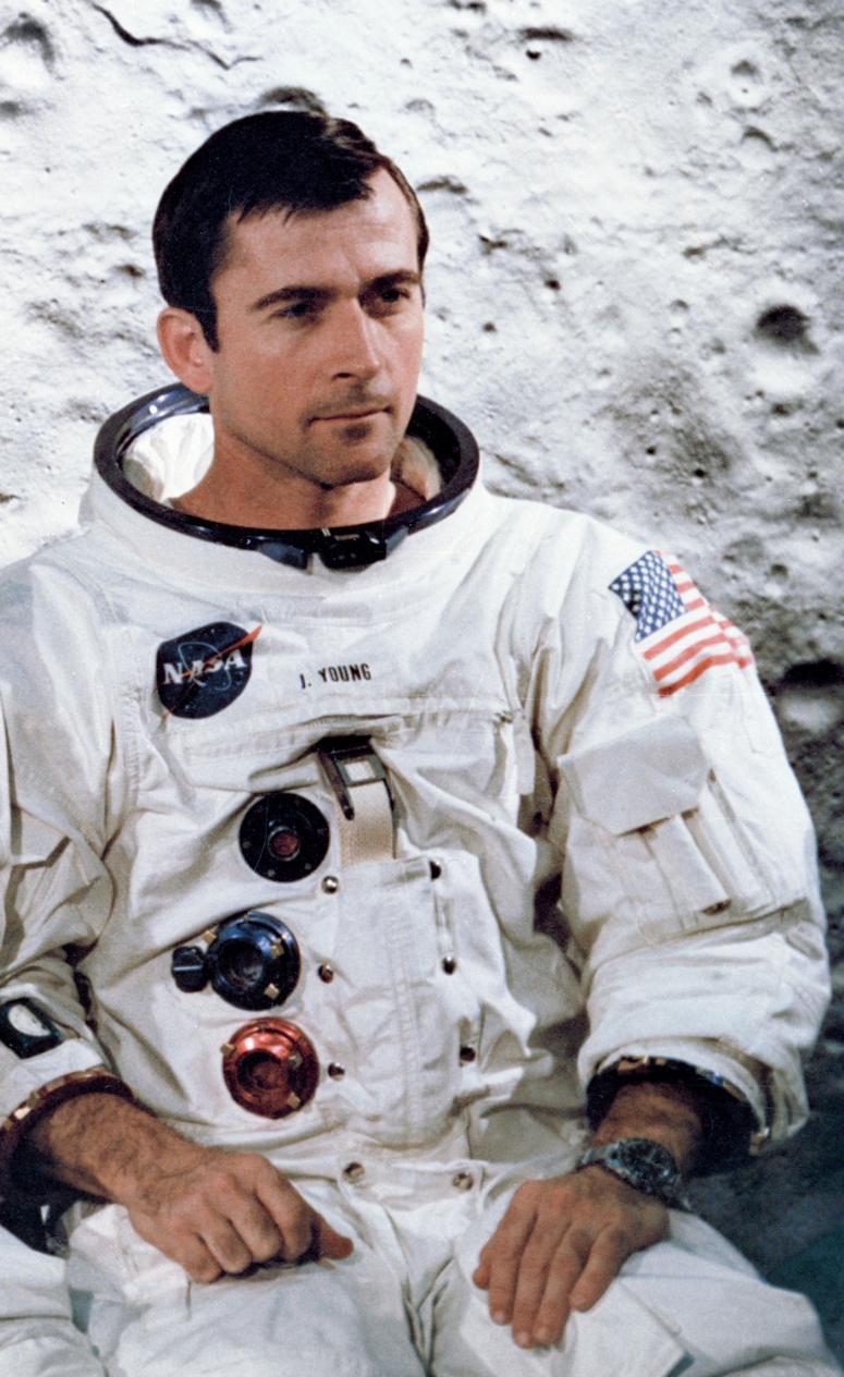 Världens coolaste astronaut John Young