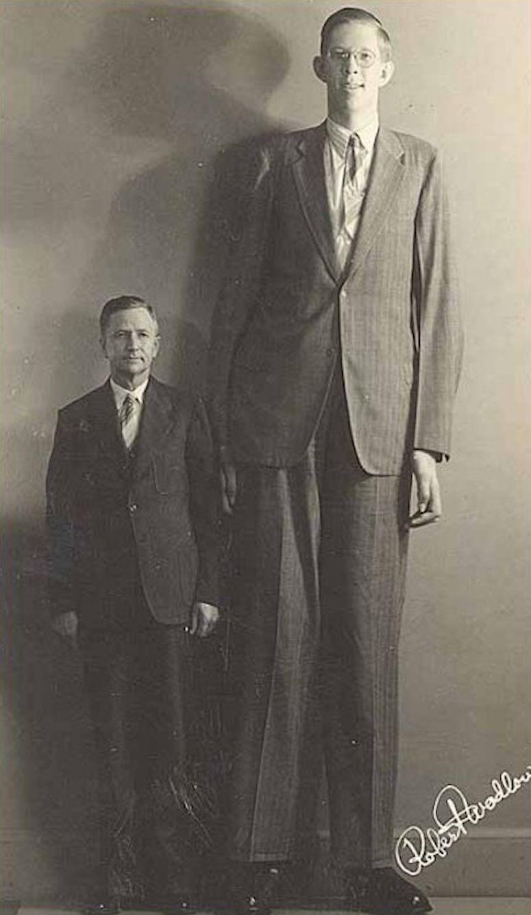världen längsta man