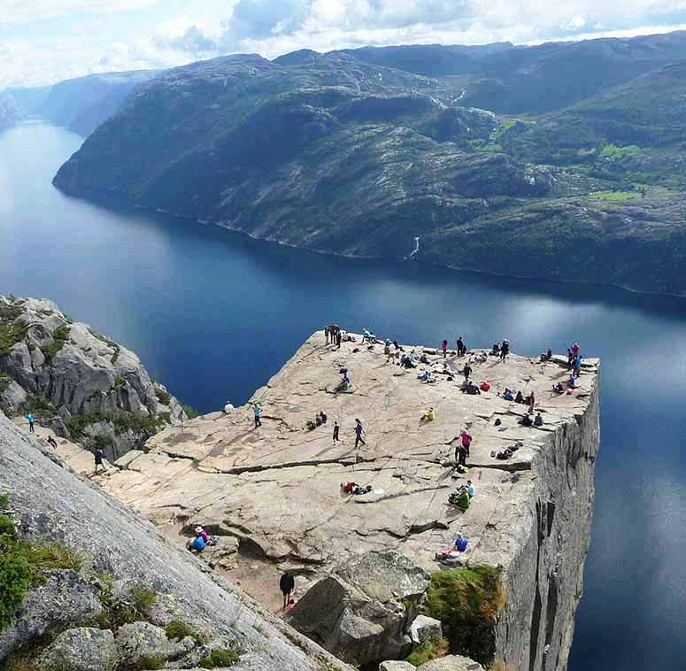 sevärdheter norge karta Norges 7 häftigaste platser sevärdheter norge karta