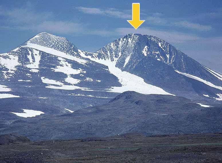 Sveriges 12 Hogsta Berg