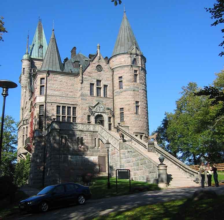 slott i sverige karta Sveriges 15 häftigaste slott slott i sverige karta