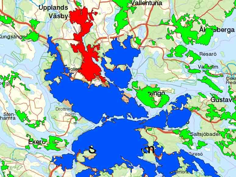 folkmängd sveriges städer