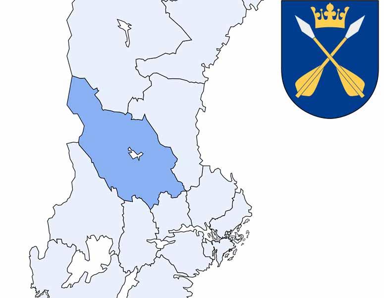 Karta Sverige Lansgranser.Sveriges 21 Lan
