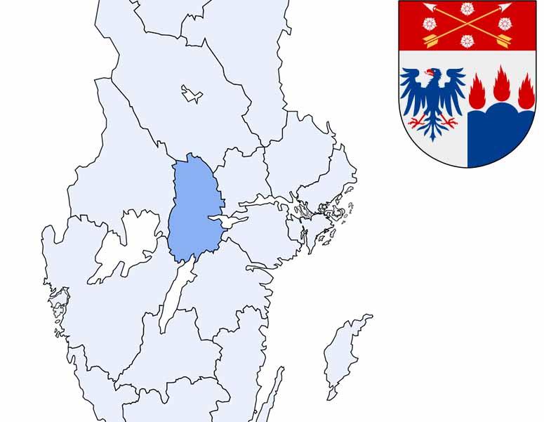 karta län Sveriges 21 län karta län