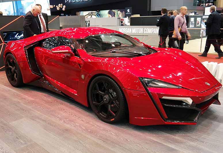 Lykan Hypersport 2018 >> Världens 10 dyraste bilar