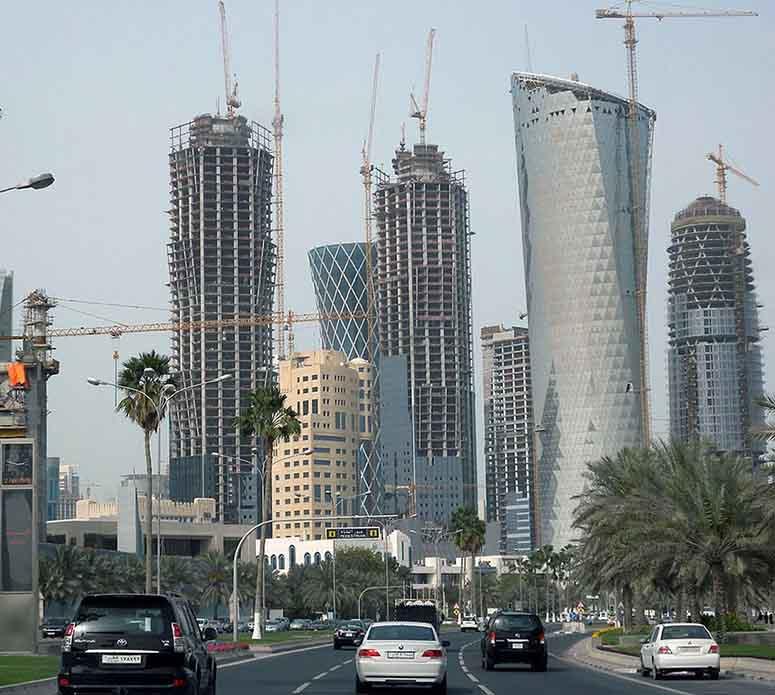Skyskrapor i Doha, Qatar