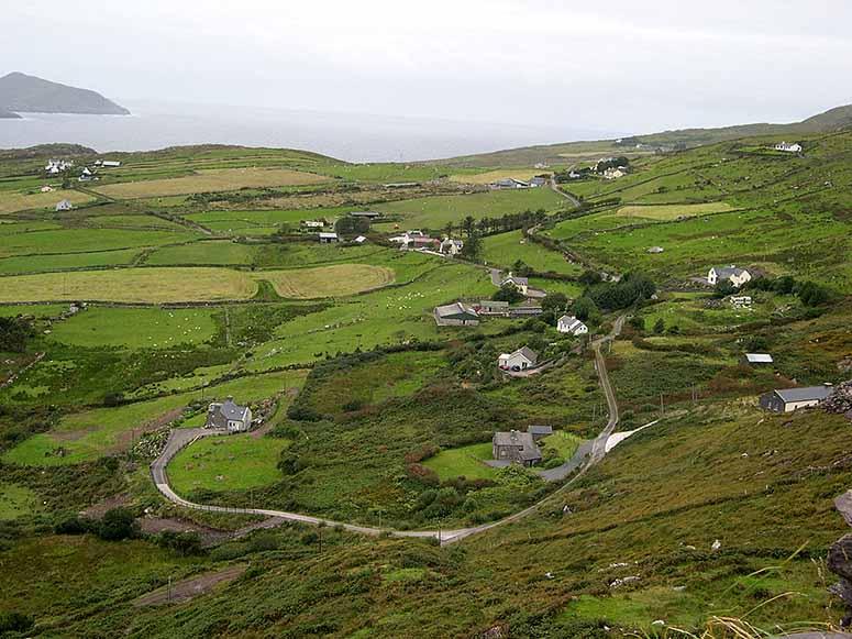 Iveragh Peninsula, Irland