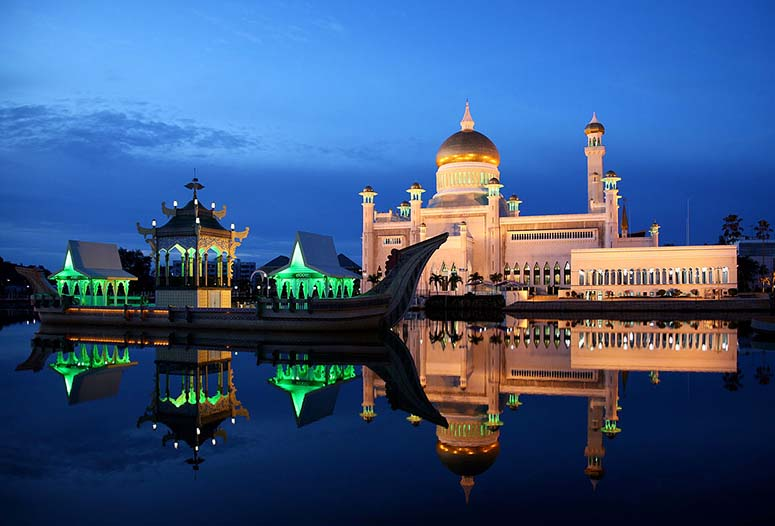 Sultan Omar Ali Saifuddin-moskén