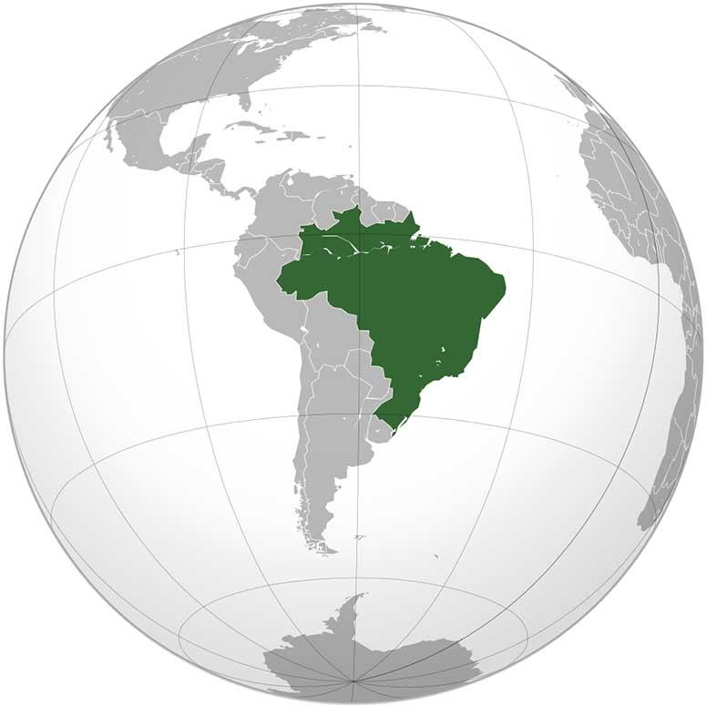 Varldens femte storsta land