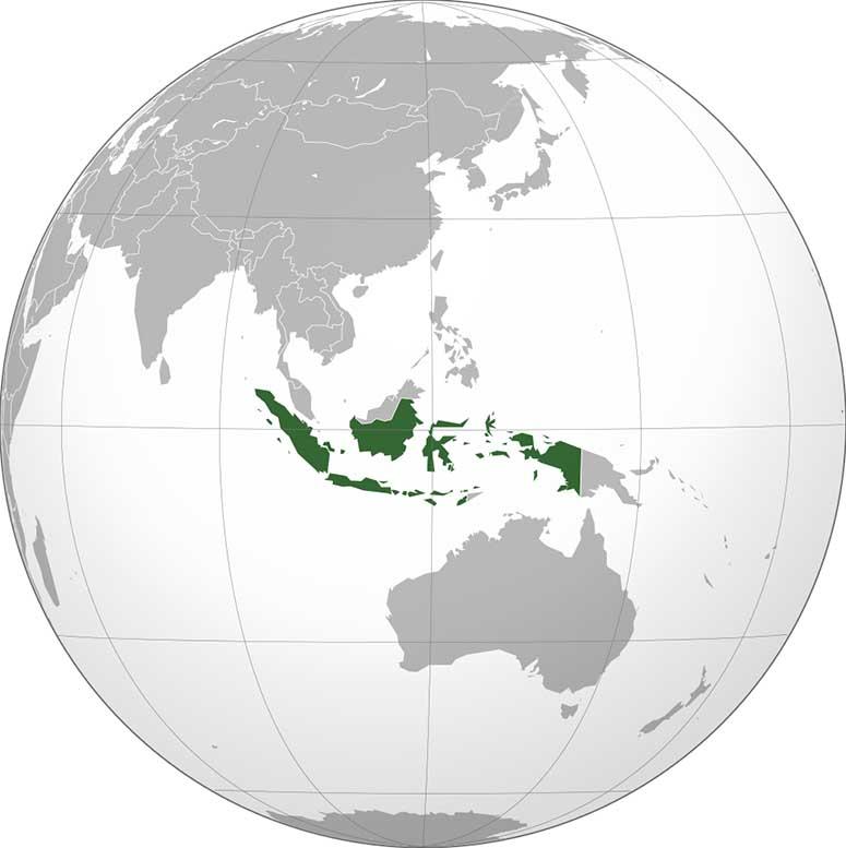 Australien Karta Lander.Varldens 15 Storsta Lander