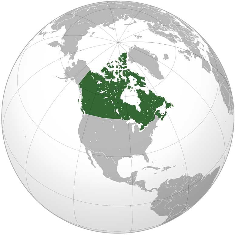 världens största land