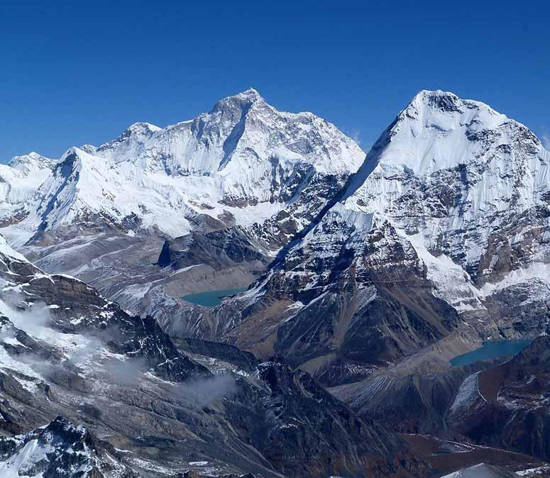 världens högsta berg 2018