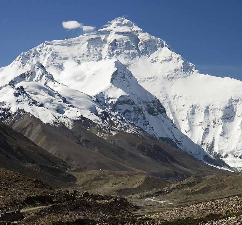 världens högsta berg