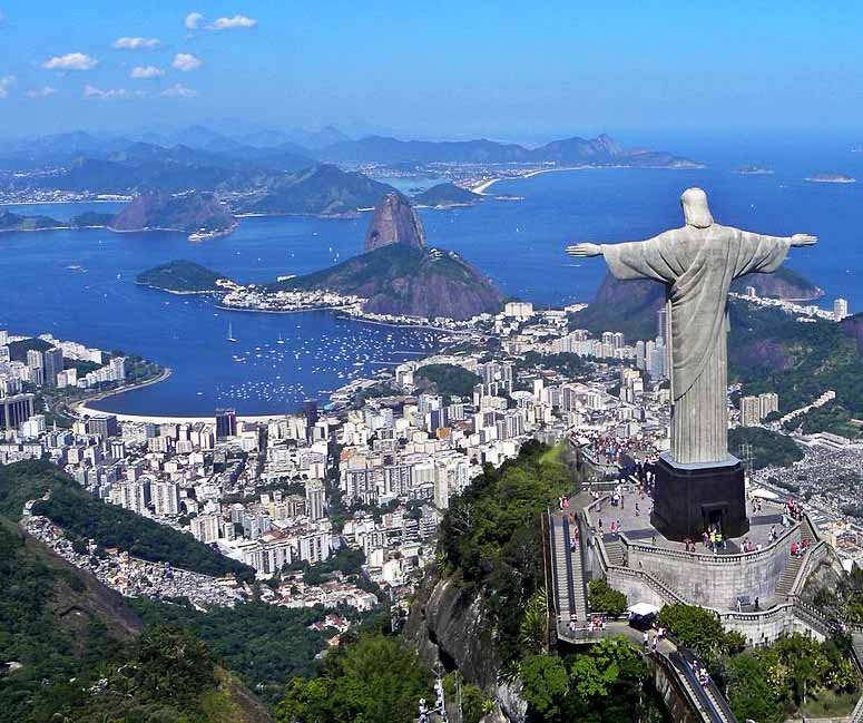 Kristus frälsaren, Cristo Redentor, Brasilien