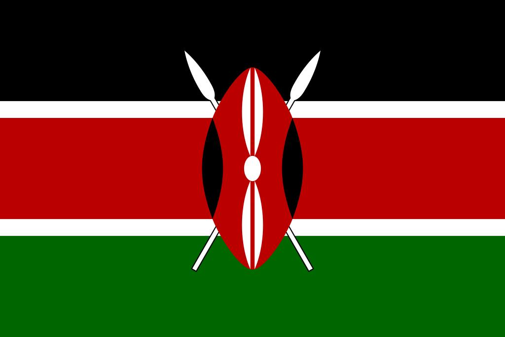 flagga grön vit röd